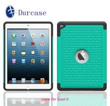 Duty Hybrid Shockproof Defender Case For ipad 5 6,For ipad 5 6 bling diamond Back cover