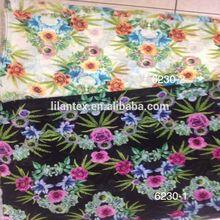 Digital textile printing on the cotton fabric as custom design