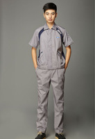 4S automobile store Ford short sleeve car-repair work uniforms