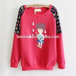 Knitting patterns casual girls modern sweater