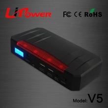 new design 20000mAh 12v li-ion battery jump starter emergency road kit with SOS flashlight