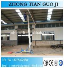 2-10m lift platform/ 10aluminium lift table /hydraulic lifter 10m capacity