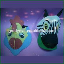 Quality most popular diy animal hats/ eva foam crafts