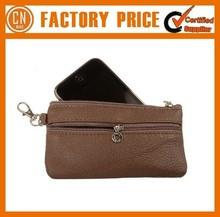 Logo Custom Promotion Custom Cheap PU Wallet Bag