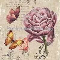 modern canvas art flower painting