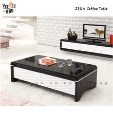 modern tea table design rectangle black coffee table wood