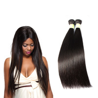 100% Young Girls Hair Straight Hair 3 Pcs 18 Inch Malaysian Hair
