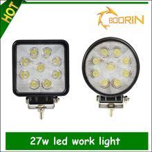 Boorin Hot sale high quality waterproof new 27w car led tuning light/led work light