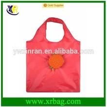 reusable portable hamburger shaped folding shopping bag