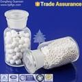 agente químico auxiliar de comercio de garantía de recuperación de azufre claus catalizador de alúmina activada para la reacción de sulfuro de hidrógeno