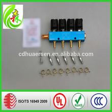China alta calidad LPG / gnc rampa de inyección del inyector del carril
