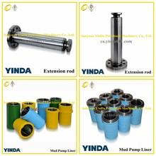 API standard Bomco F-500 mud pump Extension Rod, oil pump parts, mud pump parts