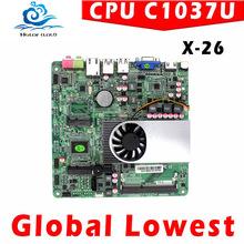 mini motherboard Mini-ITX mini motherboard XCY X-26 Micro motherboard mini itx INTEL C1037U