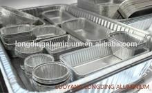 high quality semi-rigid aluminum foil container
