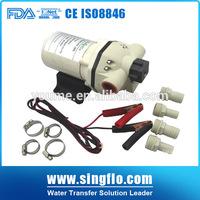 Singflo 12V&24v DC diaphragm pump/fuel pump diaphragm material/pump fuel.