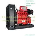300hp 3000 rpm bomba de acionamento do motor diesel para venda