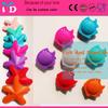 Silicon Teething Toys starfish biting/Biting nursing