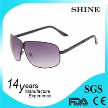 2015 summer fashionable pilot sunglasses metal