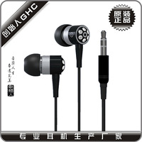 hot sale new design crystal earphone with 3.5mm plug & earbud in ear