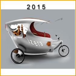 2015 fashion yuehao/jzera 1000W electric tricycle