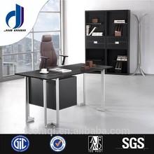 F-09 2015 I shape high gloss executive office reception desk
