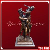Classical Decorative bronze nude figure