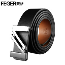 Durable use cow leather men's genuine leather belt manufacturers