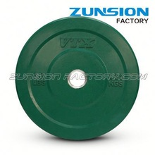 Coloured steering wheel shaped Rubber Olympic Plate with massage handle grip