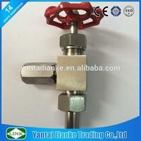 stainless steel ferrule 1/2 inch needle triangle valve