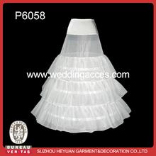 P6058 Hot Sale A-line Bridal Petticoat for Wedding Dress
