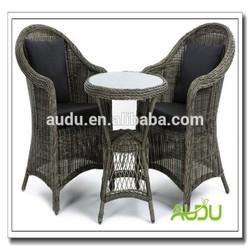 Audu 3 Pieces Cafe Shop Patio Furniture