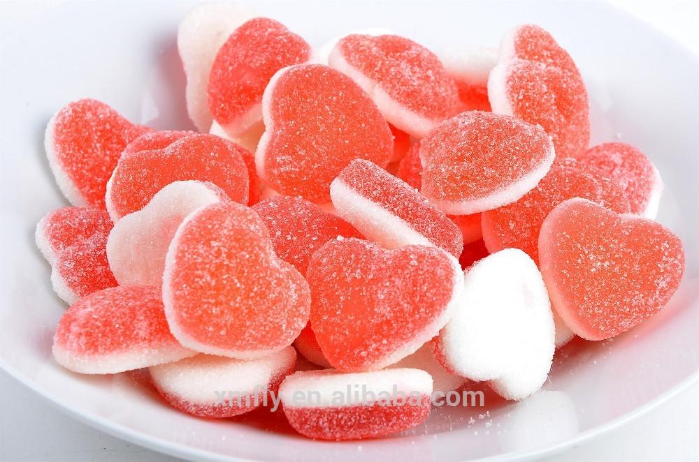 enrob 233 de sucre coeur forme halal vitamine p 226 te de fruit sucreries gommeuses id du produit