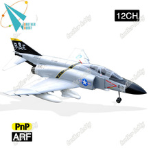 F-4 Phantom II 12CH Electric EPO foam rc rtf electric plane