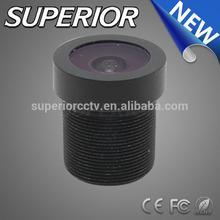 1/2.7 CCD or CMOS m12 mount 1.3MP IR 3.3mm F2.6 Back Focal Length 5.35mm Fixed iris Board Lens for hidden ip covert cctv camera