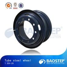 7.50-20 dump 5 hole wheel rim/truck wheel rim