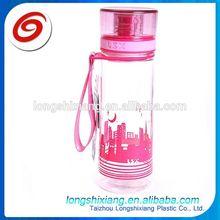 2015 plastic camp water bottle,tumbler plastic,750ml pp/pe plastic water bottle factory