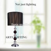 home decor acrylic fabric shade table lamp LED Lighting