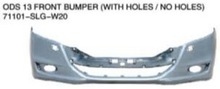 For honda odyssey 2013 front rear bumper/front grille