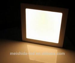mini square led panel 15w/UL approved panel light driver