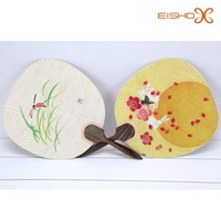 fancy painting korean/chinese/japanese paper hand fan