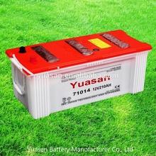 Yuasan New Design Powerful RC Motor Starter 12V 210AH Lead Acid Dry Battery for Cars/Trucks -71014