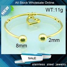 new design brand name gold bangles on sale