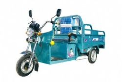 Cargo electric rickshaw with 3 wheel