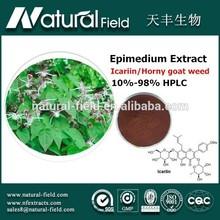 Good reliable supplier Natural supplement epimedium extract icariin 98% hplc