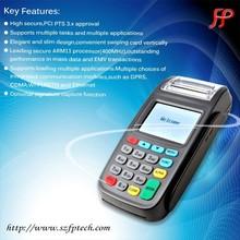GPRS CDMA WIFI PSTN handheld wireless restaurant ordering terminal