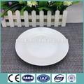 8'' atacado branco porcelana estoque pratosdecerâmica pratos para a promoção