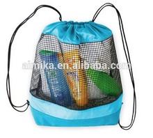 Shoulder of outdoor environmental breathable mesh bag
