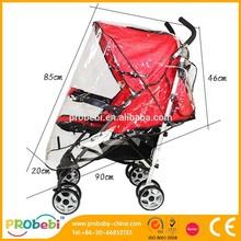 transparent plastic cover /baby stroller rain cover / baby stroller Cover