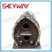 Wooden craft bird house