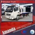 Dongfeng camion dépanneuse remorquage et un ascenseur, 6 roues sous lift truck wrecker, 6-8 ton nouveau camion dépanneuse pour la vente